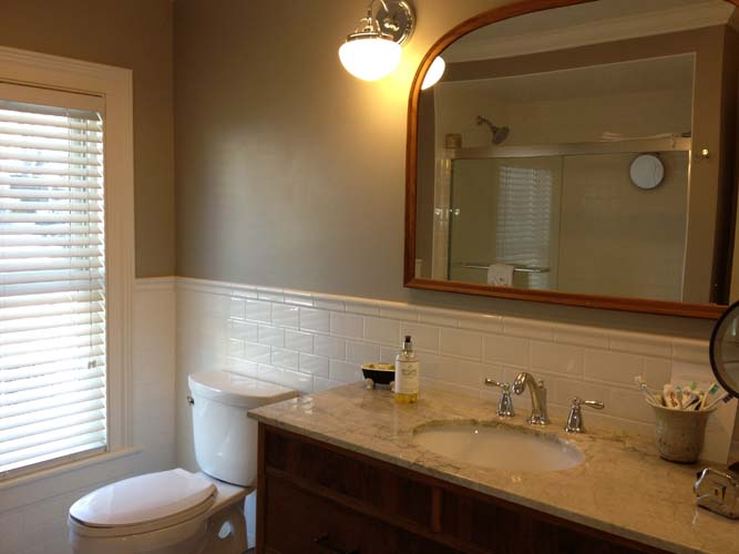 Bc west builders for Latest in bathroom design